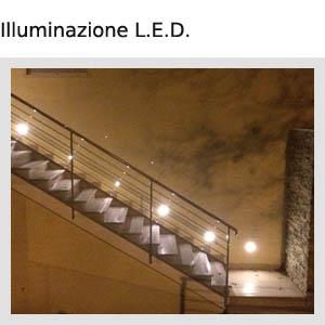 Vendita lampade a led lampadine illuminazione interni esterni led v g r impianti elettrici - Illuminazione interni led ...